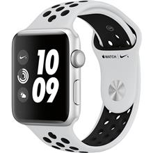 Apple Watch 3 Nike Plus 42mm Silver Aluminum Case with Pure Platinum/Black Nike Sport Band